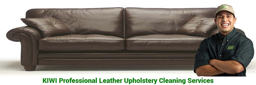 leather upholstery cleaning services