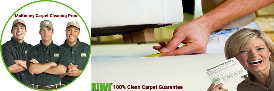 McKinney pro carpet cleaning techs and happy Customer