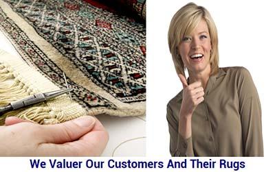 perfect rug repair work