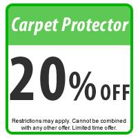 Carpet Protector Coupon, 20% off