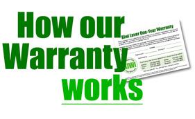 How the KIWI Phoenix carpet cleaner warranty works