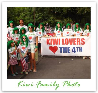 KIWI family photo