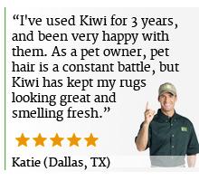 Rug Cleaning Reveiws KIWI Dallas TX