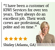 Upholstery Cleaning Reveiw KIWI Atlanta GA