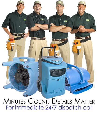 Water Damage and Extraction Emergency Services, Fort Worth