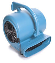 water damage drying fan